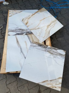 Gres płytka Gold Carrara GOLDINIO 60x60 New Top